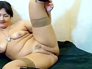 Russian Hairy Webcam Mom russian cumshots swallow
