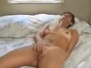Mature amateur masturbation video
