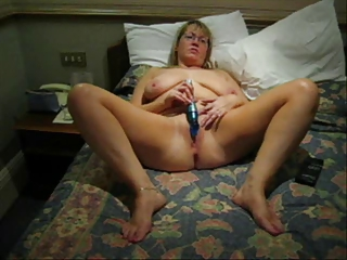 Sexy natural mature solo