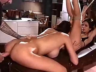 Hardcore MILF Threesome Fucking Fantasies Come