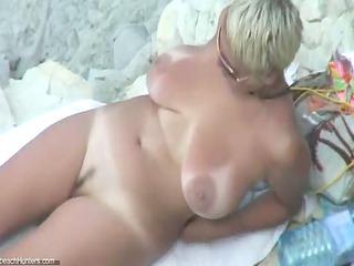 sexy mature nude beach