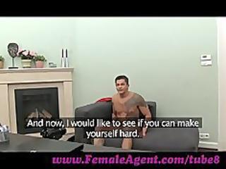 FemaleAgent. MILF cums all over studs cock