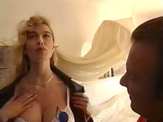 Sibylle Rauch Italien Milf fucked by two guys