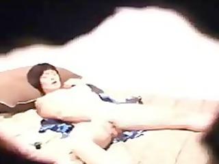Hidden cam caught moms and sisters masturbating