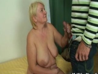 Masturbating mother in law gets busted and screwed