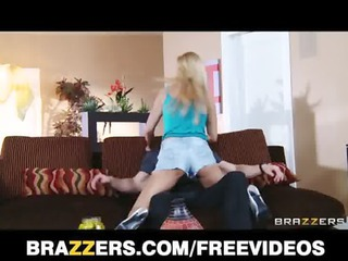 Thick blonde MILF helps a younger man get revenge