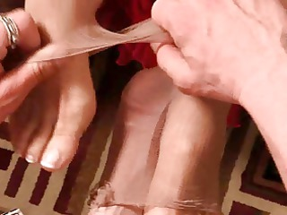 Mature FootJob FILM 1