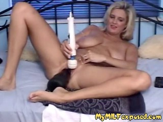 My MILF Exposed - Extreme dildos in MILFs pussy