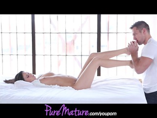 PureMature Young Mom gets creampie