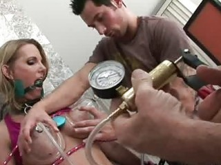 Special bdsm games for a hot milf nikky