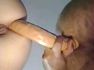 French Wife &; Huby Sharing Dong