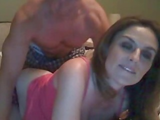 Milf drilled from behind on webcam
