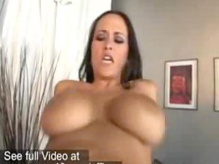 Hot office babe Carmella Bing getting banged by a