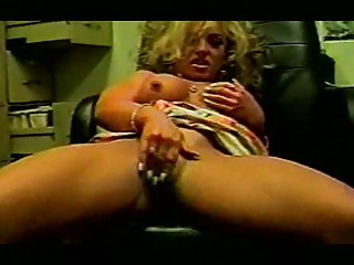 MILF Office Sex and Masturbation