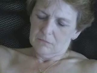 62 years old wife masturbating. Amateur