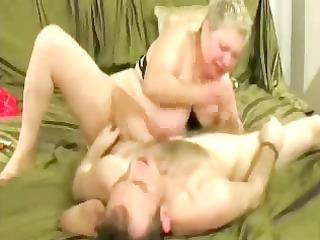 Slut granny enjoys with younger man. Amateur